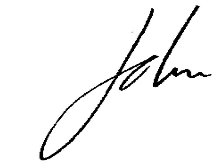 John Koff Signature